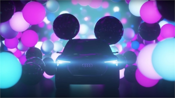 Disney & Audi's Streaming Service for Driverless Cars