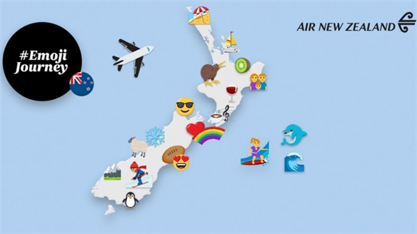Air New Zealand Plans Emoji Itineraries
