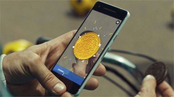 Oreo's Augmented Reality Treasure Hunt