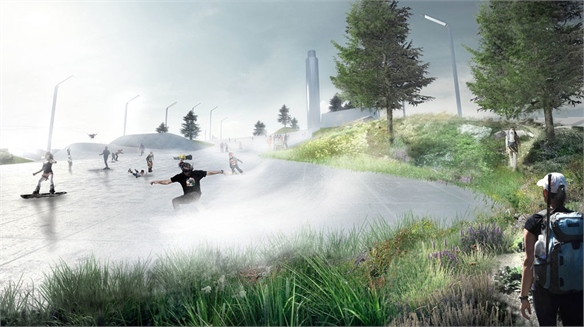 Amager Resource Center: Urban Ski Slope on Waste Plant