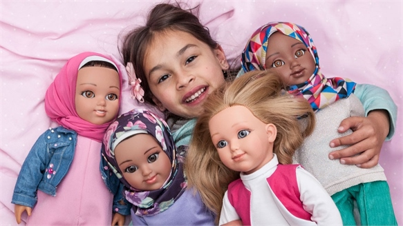 Headscarf-Wearing Dolls Appeal to Inclusive Gen Alpha