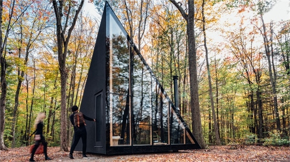 Tiny Off-Grid Holiday Homes Tap Micro-Living Trend