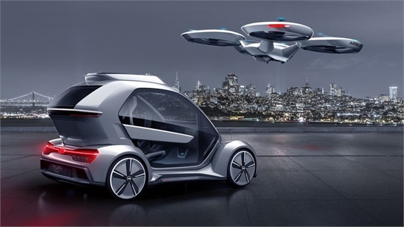 Pop.Up Next: Hybrid Flying Concept Car