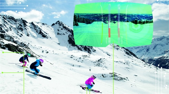Elan Skis' Virtual Skiing Coach