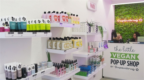 Superdrug's Vegan Pop-Up
