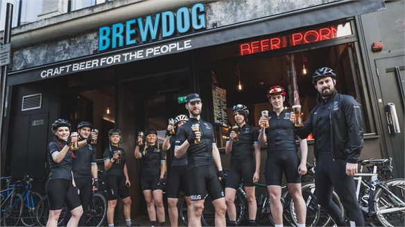 BrewDog Launches Cycle Club