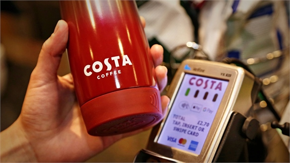 Costa Clever Cup Offers Contactless Payments