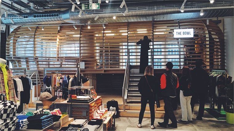 Selfridges Commits to Skate Culture with In-Store Bowl  0c9254149