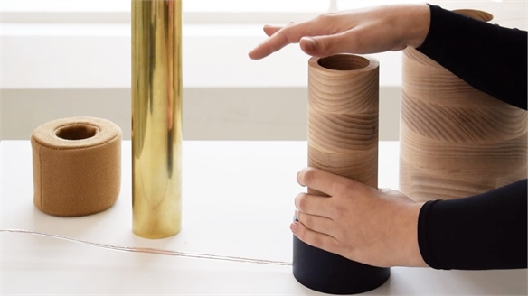 Designer Reimagines Sound as a Tactile Experience