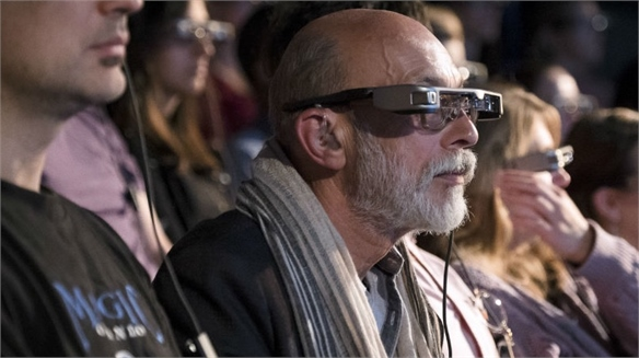Smart Caption Glasses: Theatre for the Hearing Impaired