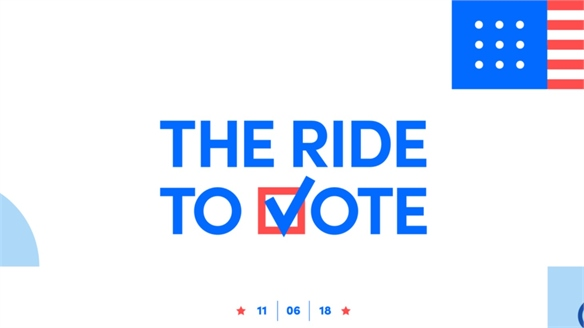 Lyft Gets Voters to the Polls