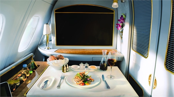 Emirates Offers Flyers a Culinary Education