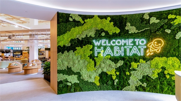 High-Tech Grocery & Dining Concept: Habitat by Honestbee