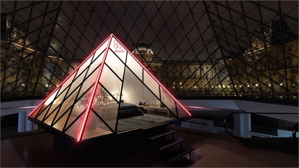 Airbnb Partners with The Louvre for a Sleepover