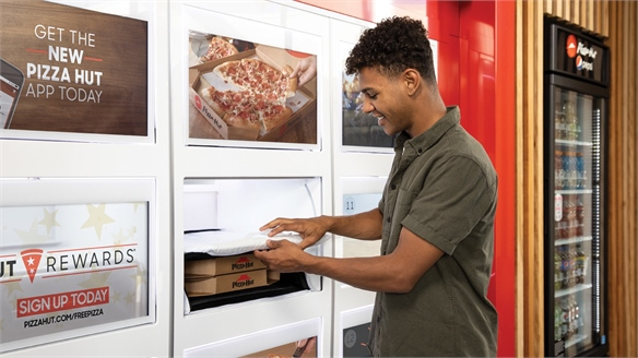 Pizza Hut's New Cubby Pick-Up Concept