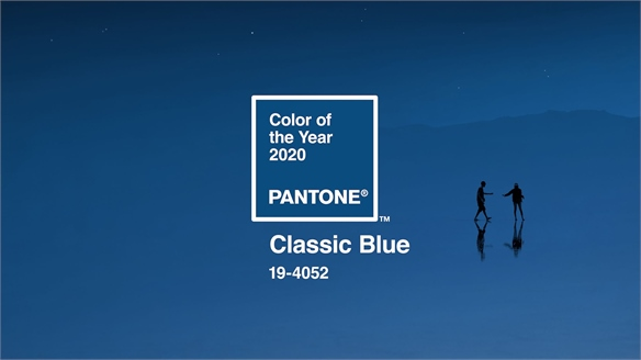 Pantone Crowns Classic Blue Colour of the Year 2020