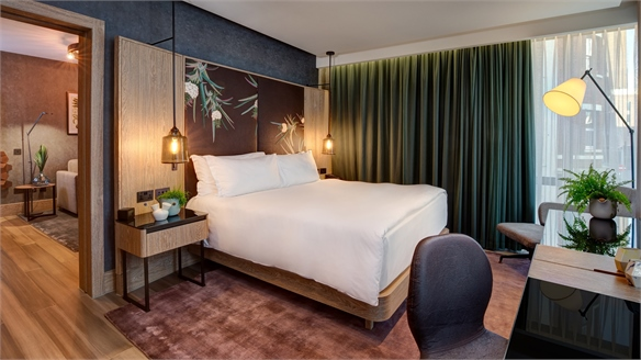 Hilton Creates the World's First Fully Vegan Hotel Room