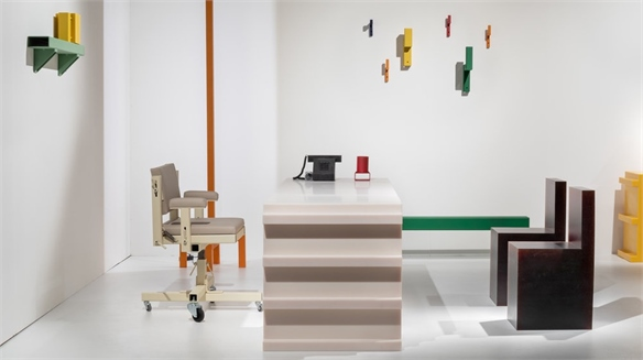 Office Furniture Reimagined Using Industrial Materials