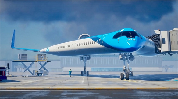 KLM Designs V-Shaped Eco Planes