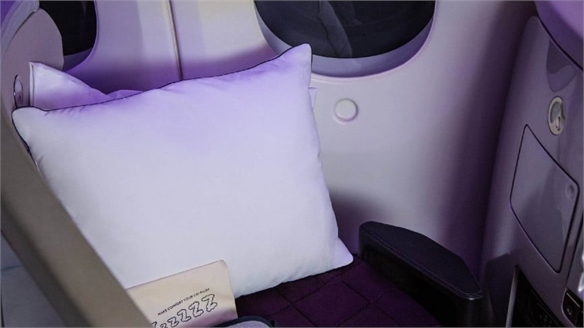 Air New Zealand's Nasa-Approved Pillow
