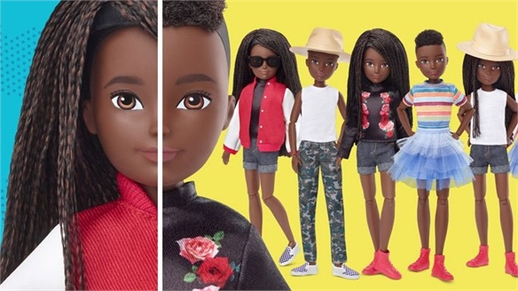 Mattel's Gender-Fluid Doll Embraces Flexi-Identities