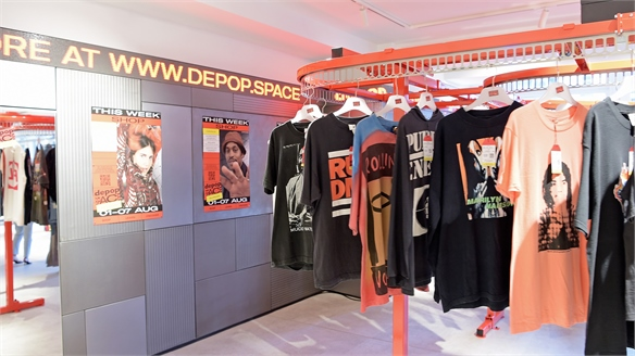 Depop Helps Selfridges Dept. Store Push Digital Agenda