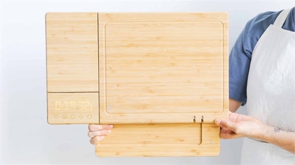 5-in-1 Chopping Board for Small Kitchens