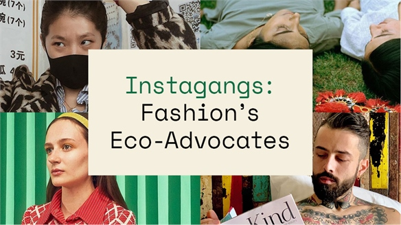 Instagangs: Fashion's Eco-Advocates