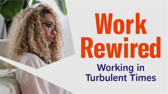 Work Rewired: Working in Turbulent Times