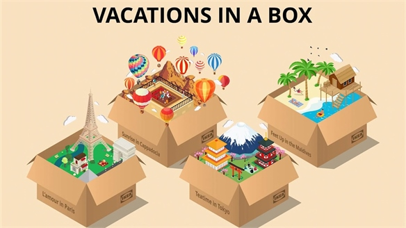 Ikea's Vacation Boxes Tap Long-Term Travel Planning