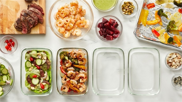 Blue Apron's Menu Kits for Meal Preppers
