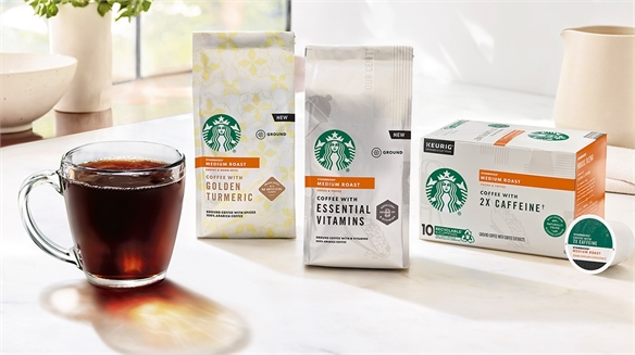 Starbucks Launches Functional Coffees