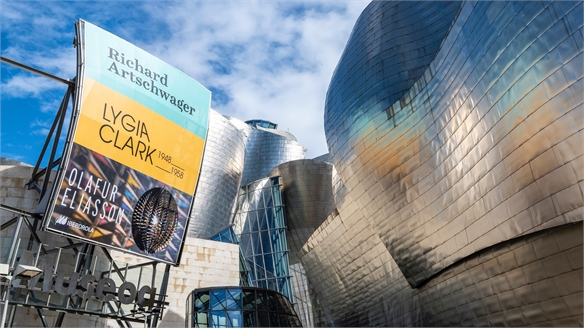 Guggenheim Museum Bilbao's Air-Purifying Ad Campaign