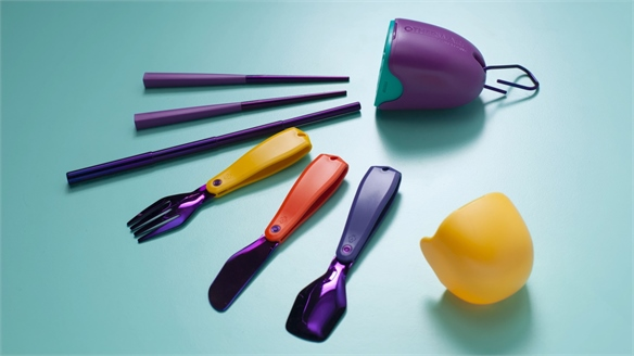 Pharrell Co-Launches Reusable Covid Cutlery from CDs