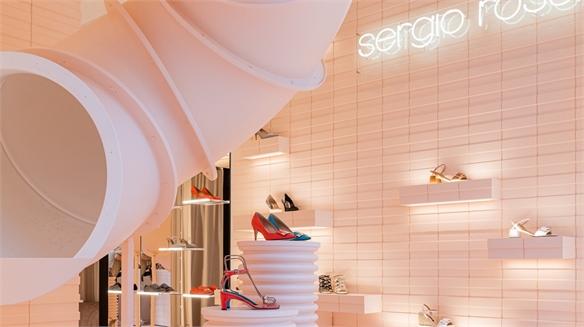 Sergio Rossi's #WonderMachine pop-up store