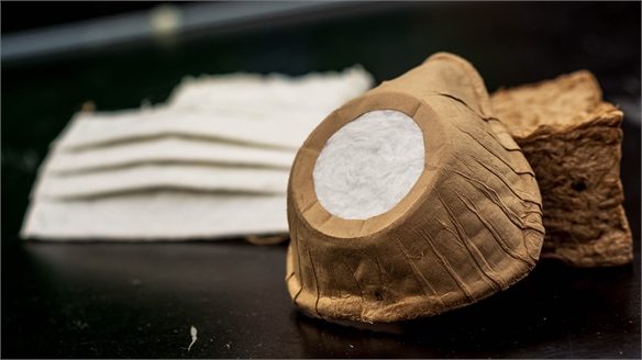 Biodegradable Face Mask Made from Wood Fibres