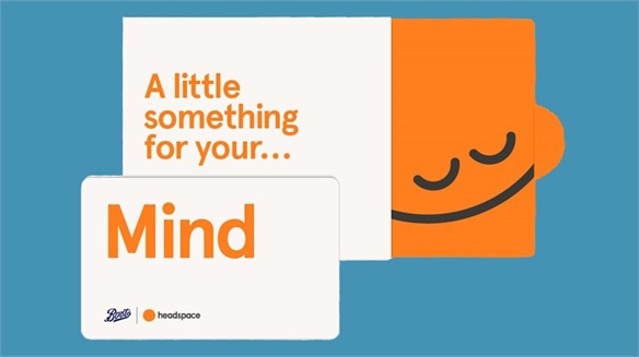 Headspace & Boots Launch Gift Card
