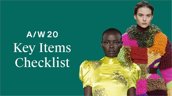 A/W 20: Key Items Checklist