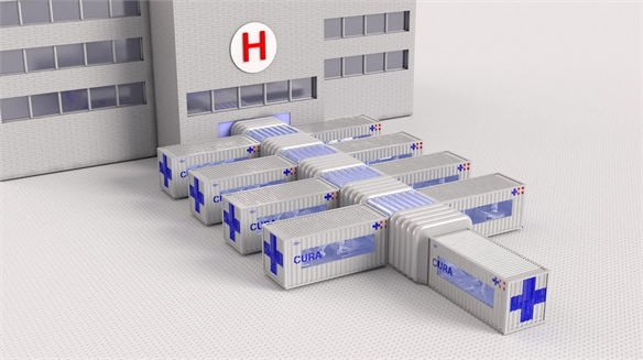 Designers Create Scalable ICU Wards from Shipping Containers