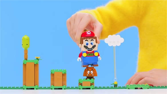 Nintendo & Lego Collaborate to Bring Video Game to Life