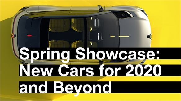 Auto Spring Showcase: New Cars for 2020 & Beyond