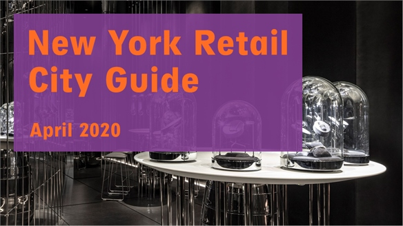 Retail City Guide: New York, April 2020