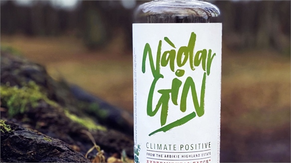 Introducing the World's First Climate-Positive Gin