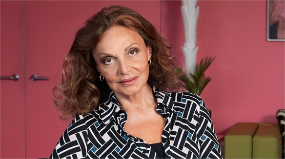 DVF Live Streams to Support Coronavirus Victims
