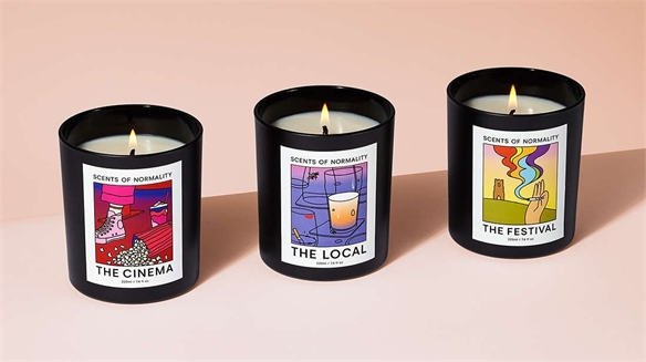 Scented Candles Offer Escape to Normality in Lockdown