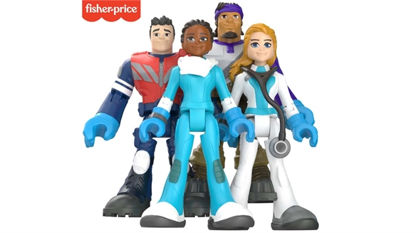Mattel Casts First Responders as Toy Action Figures