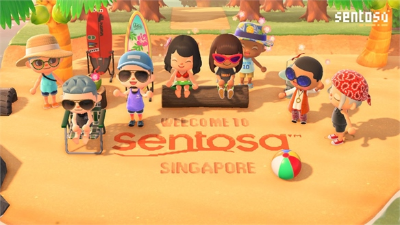 Singapore Welcomes Tourists – on Nintendo's Animal Crossing