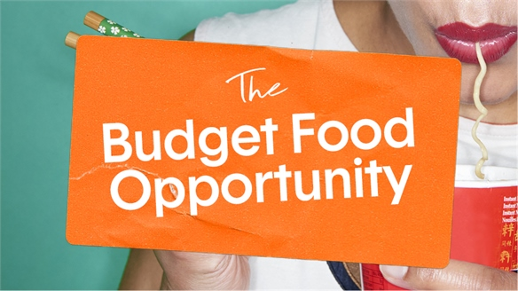 The Budget Food Opportunity