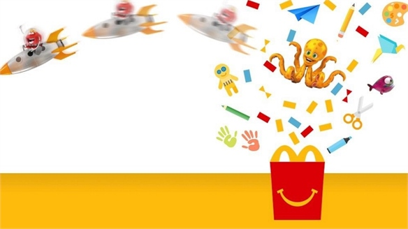 McDonald's Launches E-Happy Meal Hub