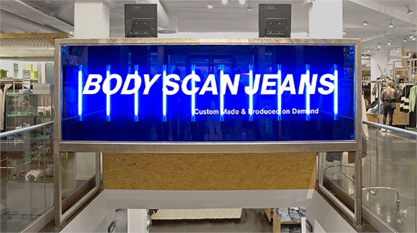 Weekday Brings Virtual Fit In-Store with Body Scan Jeans